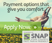 SNAP - Payment options that give you comfort - Apply Now